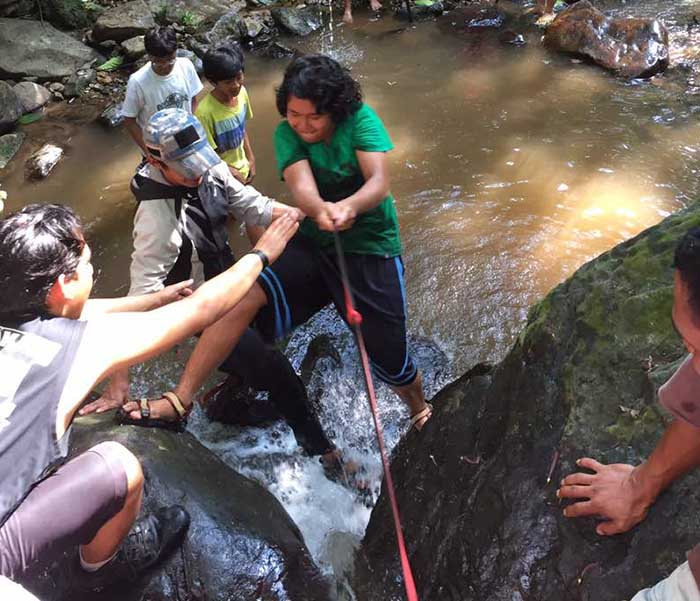Kids Activity tracking sungai